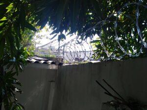 1. Cerramiento en concertina residencial