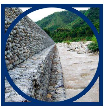 gavion para orilla de rios