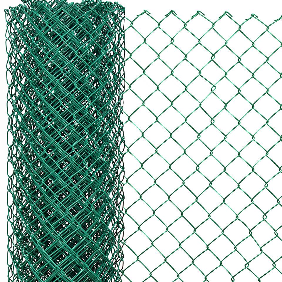 malla eslabonada verde 3
