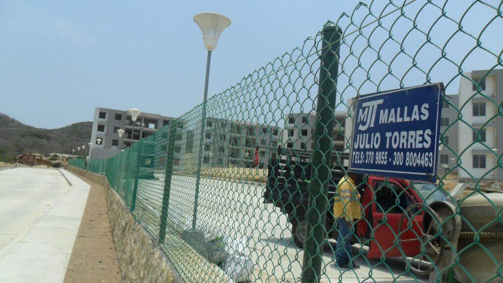 Cerramiento en malla eslabonada Barranquilla