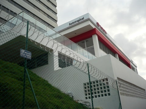 concertina de seguridad en Barranquilla