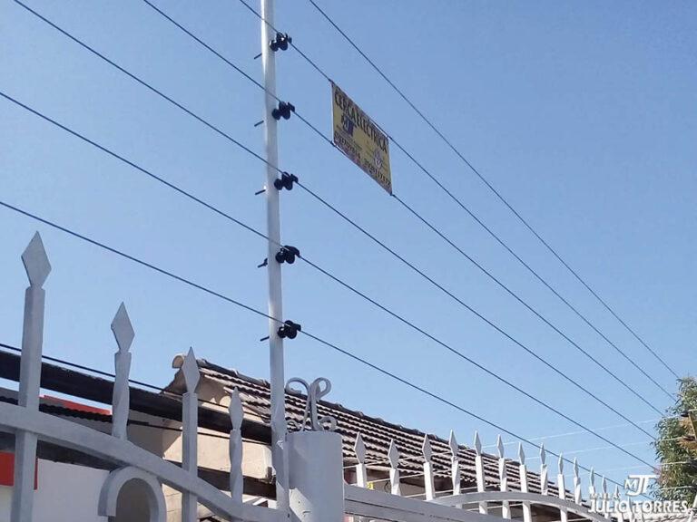 1. Cerca electrica residencial 2 1 3
