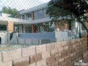 1. Cerramiento en mallas ciclon residencial