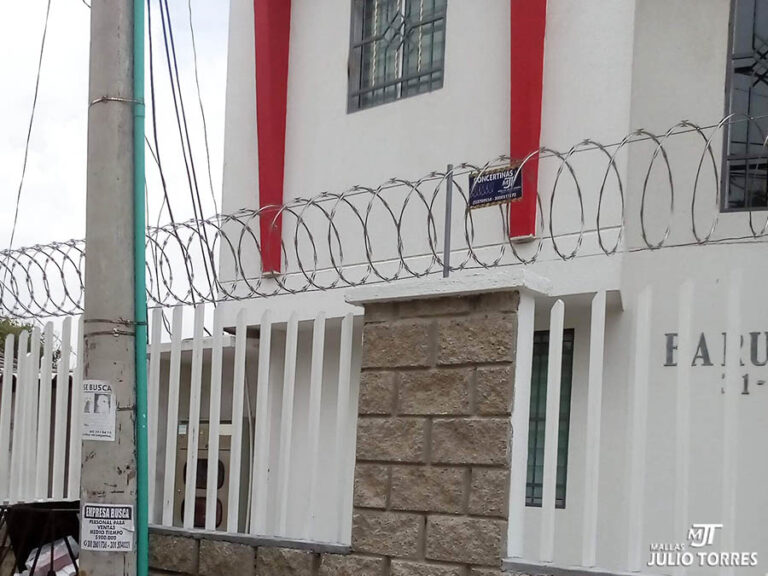1. Cerramiento en concertina residencial 2