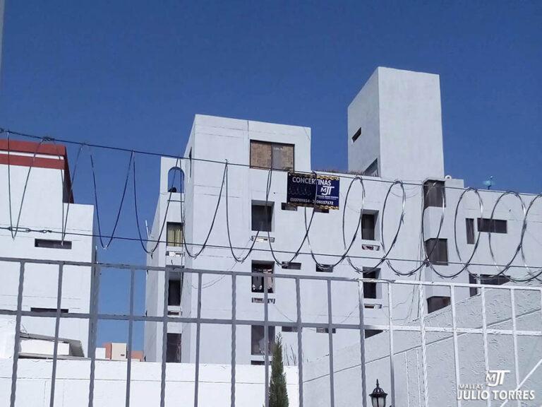 3. Cerramiento en concertina residencial 4 1