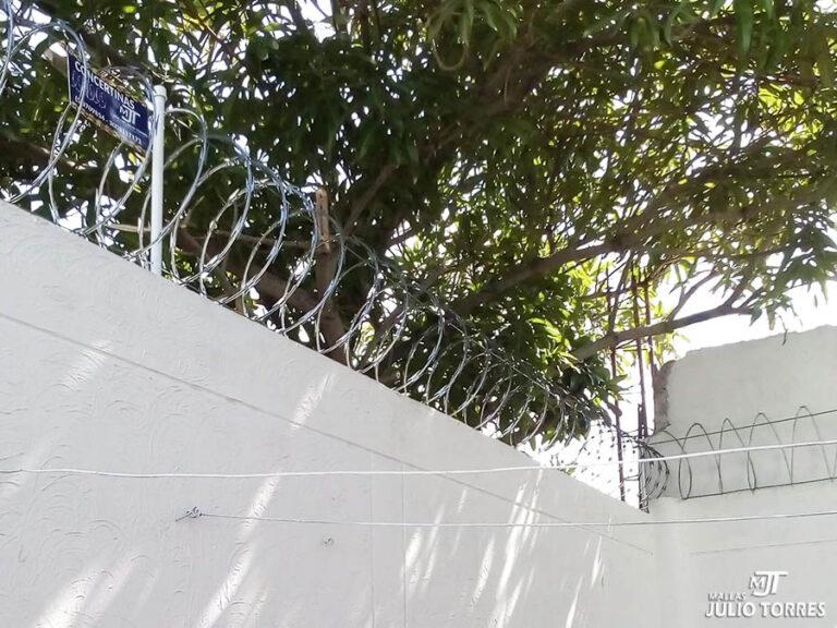 5. Cerramiento en concertina residencial